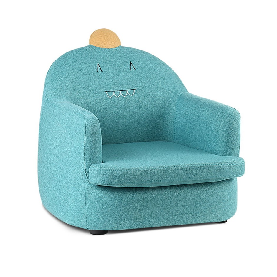 Keezi Kids Sofa Toddler Couch Lounge Chair Armchair Fabric Furniture
