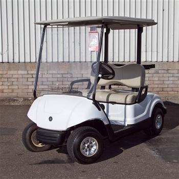 Golf cart 1998 yamaha model g19e battery electric for Yamaha golf cart id