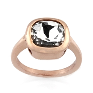 Ladies Stainless Steel Ring - Ring Size