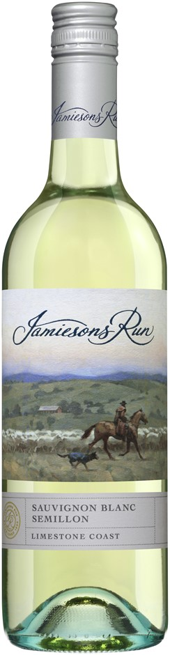 Jamiesons Run Sauvignon Blanc Semillon 2018 (6 x 750mL), SA.