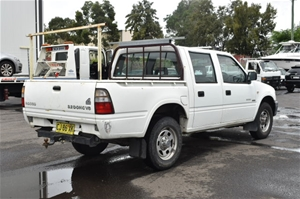 2001 Holden Rodeo LX (4x4) R9 Manual Dual Cab