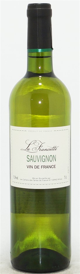La Francette Sauvignon Blanc NV (6 x 750mL) Vin de France