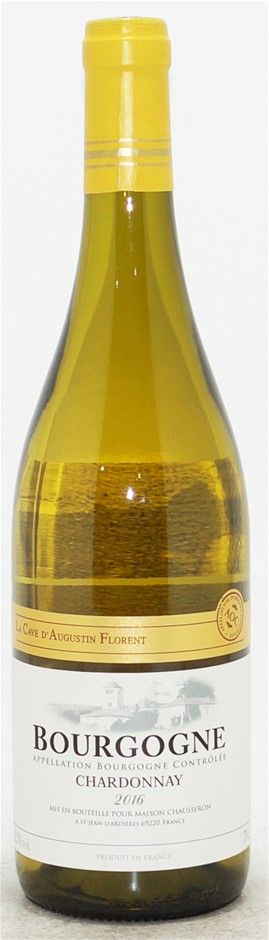La Cave de Augustin Florent Burgundy Chardonnay 2016 (6 x 750mL) Burgundy