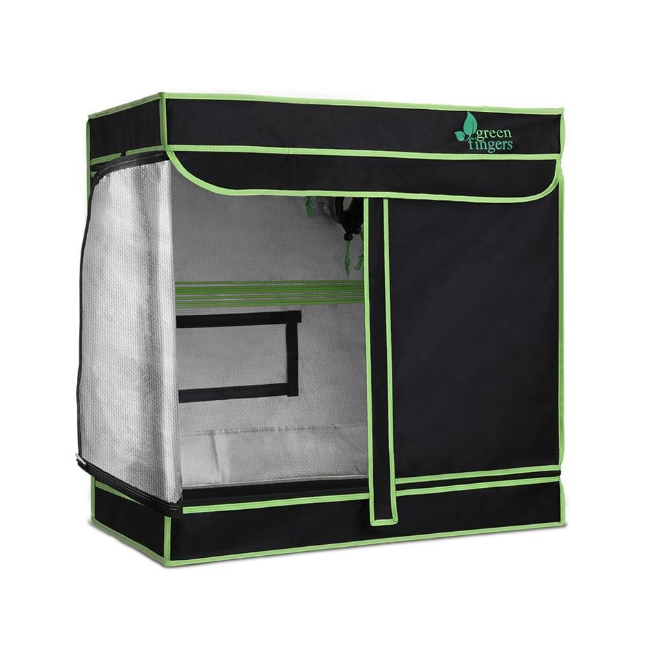 Greenfingers 80 x 45 x 80cm Grow Tents Hydroponics Plant Tarp Shelves Kit
