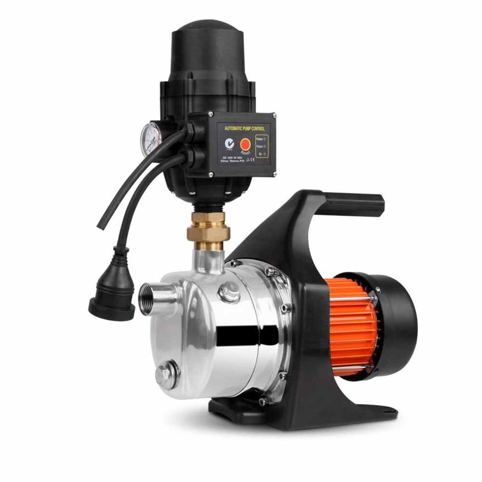 Giantz Stage 1500W Garden Water Pump High-Pressure Tank Rain Irrigation