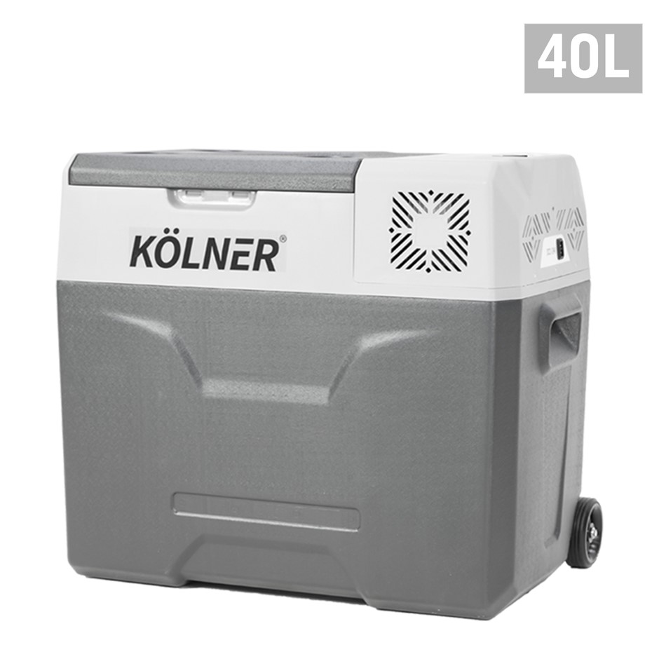 Kolner 40L Portable Fridge Cooler Freezer Camping Food Storag