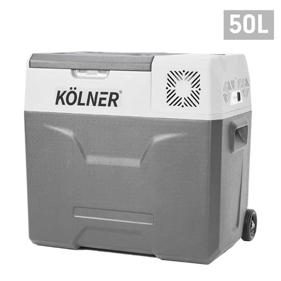 Kolner 50L Portable Fridge Cooler Freezer Camping Food Storage