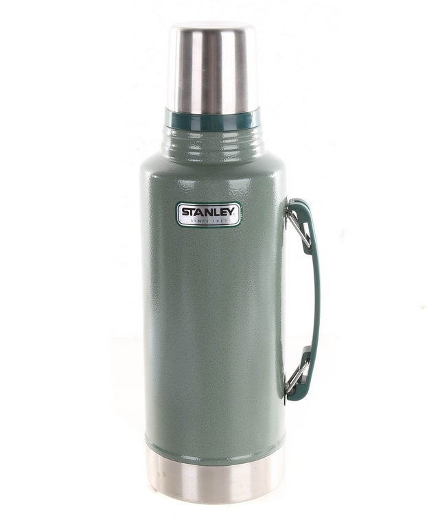 STANLEY Classic Vacuum Flask Stainless Steel, 1.9L, Green. (SN:CC29260) (26