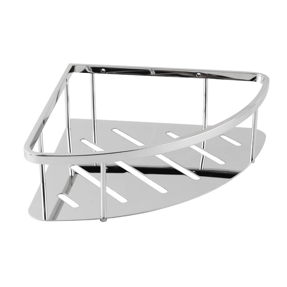 Chrome Stainless Steel Shower Caddy Shelf