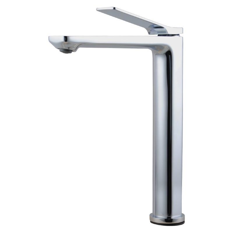 Bathroom Chrome Tall Basin Mixer Tap