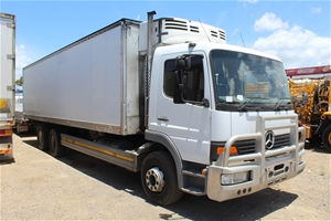 919cd97d37 2004 Mercedes Benz Atego 6 x 2 Refrigerated Body Truck Auction (0007 ...