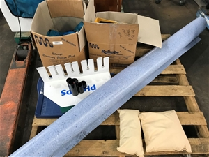 Pallet Including Box Consumables