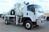 2018 Isuzu FTS 4x4 Pole Borer & Crane Truck with 200 kms