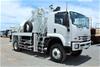 2018 Isuzu FTS 4x4 Pole Borer & Crane Truck