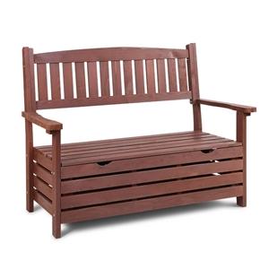 Gardeon Outdoor Storage Bench Wooden Gar