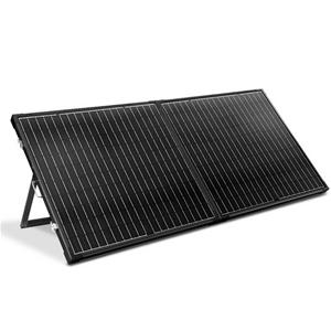 12V 250W Folding Solar Panel Kit Caravan