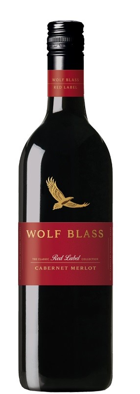 Wolf Blass `Red Label` Cabernet Merlot 2018 (6 x 750mL), SE AUS.