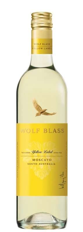 Wolf Blass Yellow Label Moscato 2017 (6 x 750mL), SE Australia.