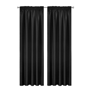 Artqueen 2x Pinch Pleat Blackout Blockou