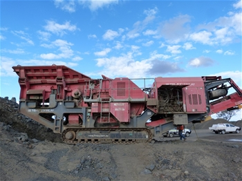 2012 Terex / Finlay Jaw Crusher