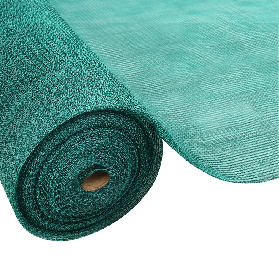 Instahut 3.66x20m 30% UV Shade Cloth Outdoor Green