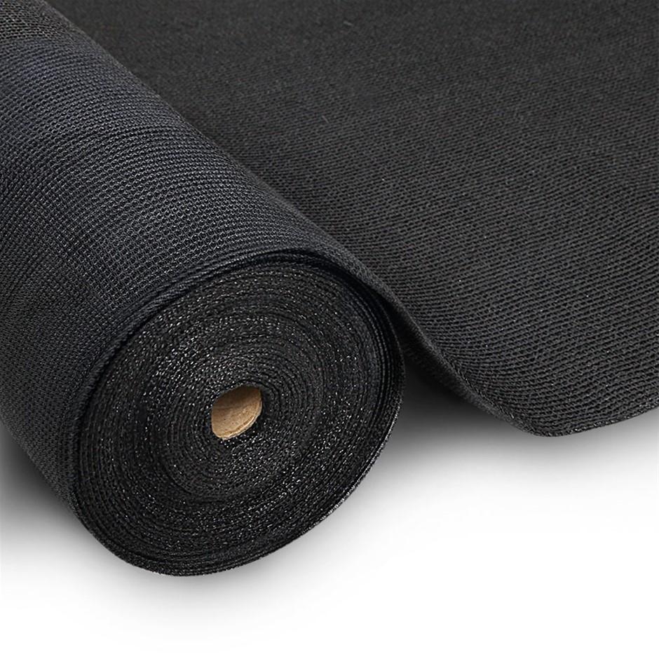 Instahut 3.66x30m 30% UV Shade Cloth Outdoor Black