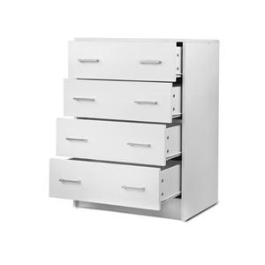 Artiss Tallboy 4 Drawers Storage Cabinet