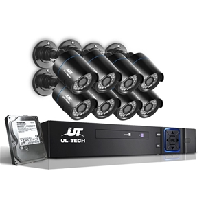 UL Tech 720P 8 Channel HDMI CCTV Securit
