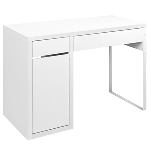 Artiss Metal Desk With Storage Cabinets