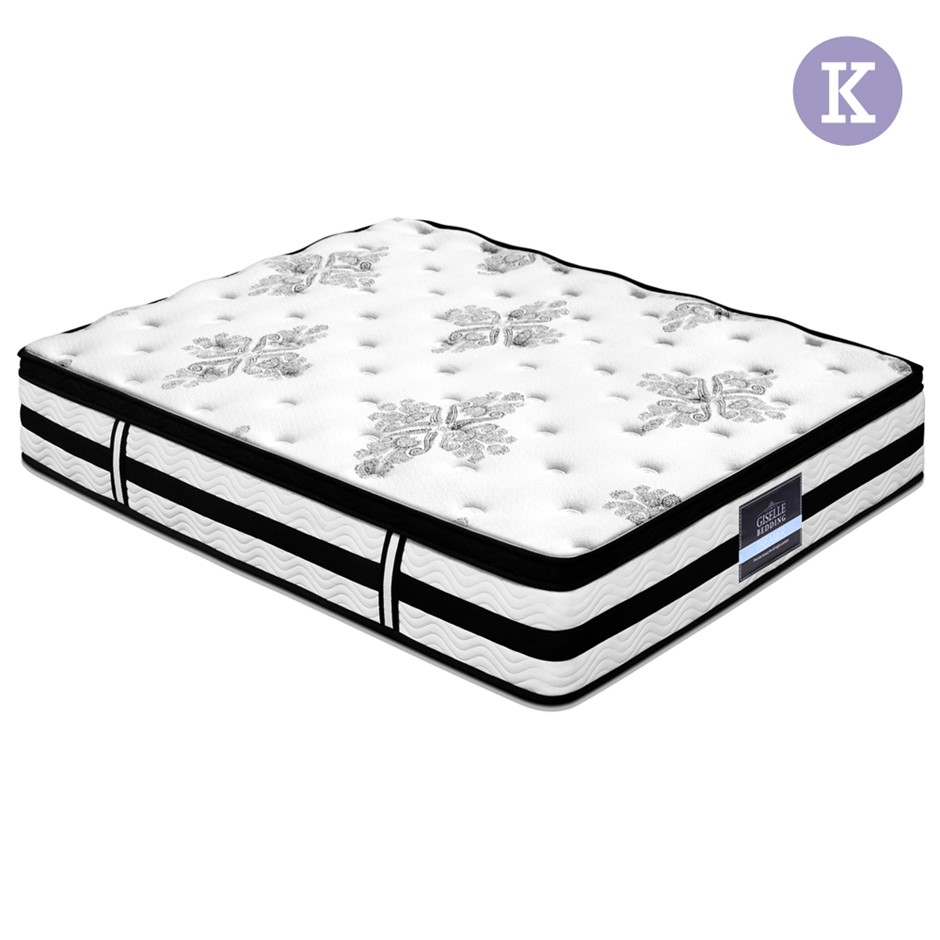 Giselle Bedding King Size 34cm Thick Foam Mattress