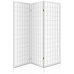 Artiss 3 Panel Wooden Room Divider - Whi