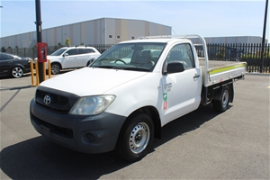 2011 Toyota Hilux Workmate TGN16R Automa