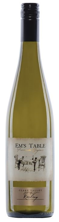 Em's Table Organic Late Harvest Riesling 2016 (12 x 750mL) Clare Valley, SA