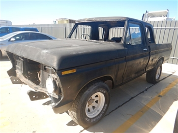 Unreserved 1995 Ford F100 RWD Manual Ute