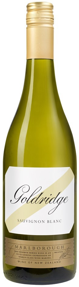 Goldridge `Reserve` Sauvignon Blanc 2018 (12 x 750mL) Marlborough, NZ