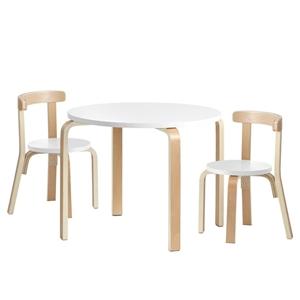 Keezi 3PCS Set Kids Activity Table and C