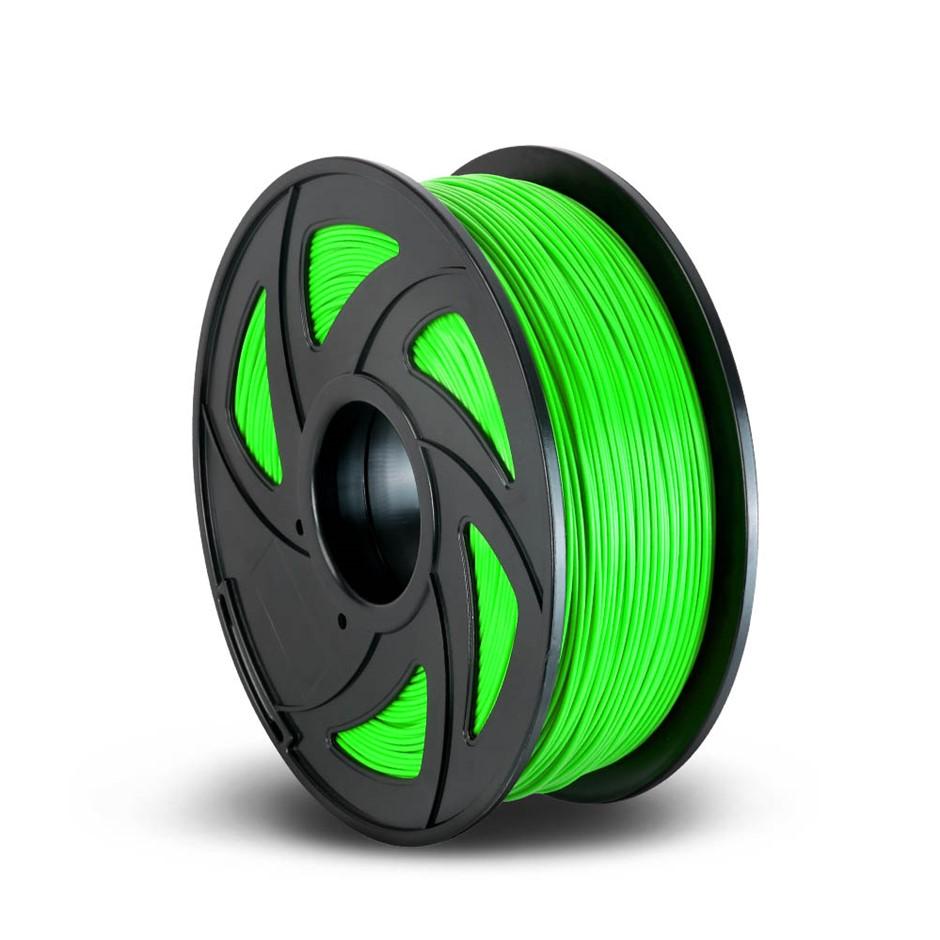 3D Printer Filament PLA 1.75mm 1kg Roll Accuracy 0.02mm Spool Green