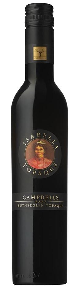 Campbells Rare IsabellaTopaque NV (6 x 375mL), Rutherglen, VIC.