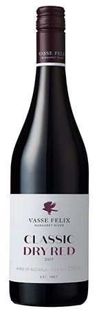 Vasse Felix Classic Dry Red 2017 (12 x 750mL), Margaret River, WA.