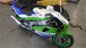 Unreserved Kawasaki Motorcycle & Workshop Goods