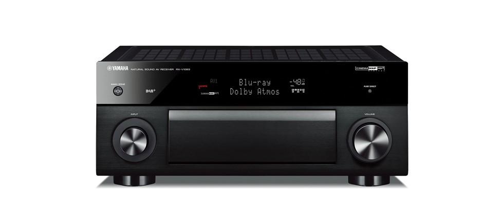 Yamaha RX-V1081B 7.2 Channel Bluetooth Home AV Receiver (Black)