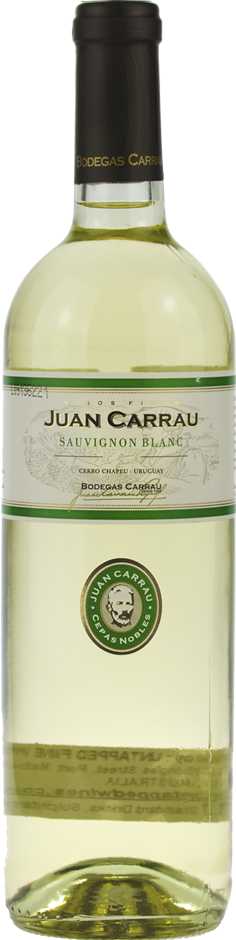 Carrau Juan Carrau Sauvignon Blanc 2017 (12 x 750mL), Rivera, Uruguay.