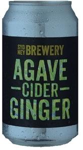 Sydney Berwery Agave Ginger Cider (24 x