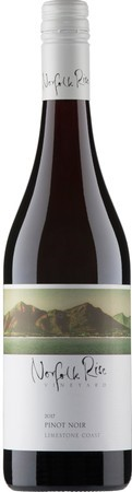 Norfolk Rise Pinot Noir 2017 (12 x 750mL), SA.