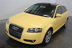 2005 Audi A3 20 Fsi Ambition Automatic Hatchback Auction 0001