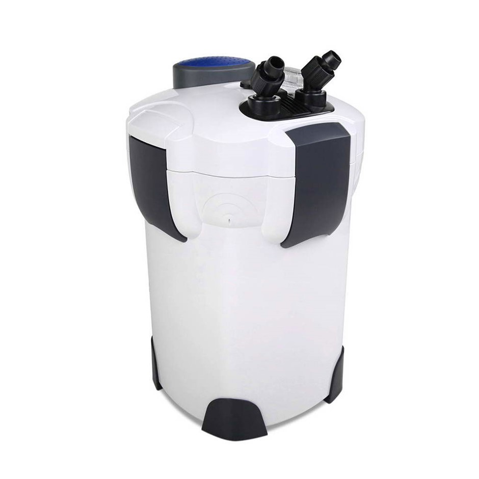 Aquarium External Canister Filter Fish Tank UV Light with Media 1850L/H
