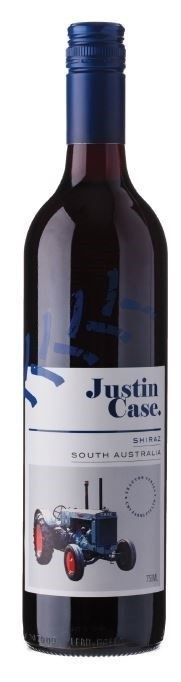 Just'n Case 'Tractor Pull' Shiraz 2018 (12 x 750mL) SA. Screwcap Closure.