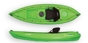 The Alpine 2.7m Kayak With Seat And Padd