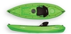 The Alpine 2.7m Kayak With Seat And Paddle - Lime. By Wavedance Kayaks