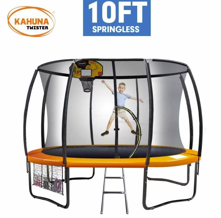 Kahuna Twister10ft Springless Trampoline
